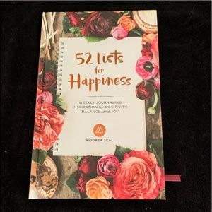 52 Lists of Happiness Journal from Anthropologie